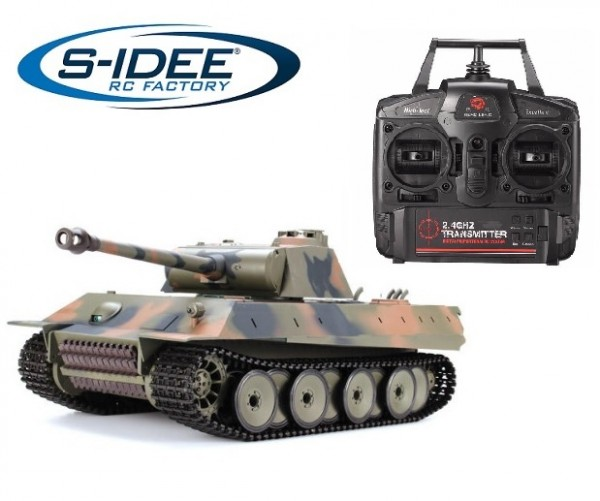 s-idee® 3819-1 Upgrade Version German Panther Panzer RC Heavy Tank 1:16
