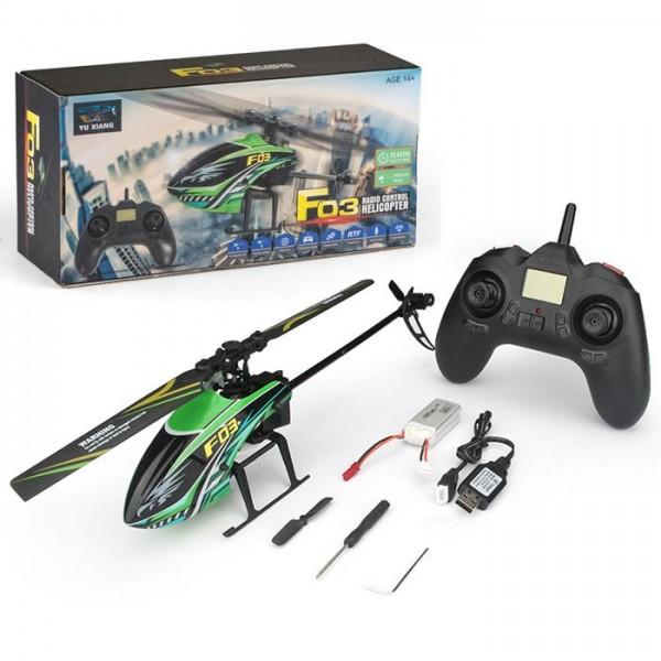 s-idee® S03 4.5 Kanal 2,4 Ghz RC Heli Hubschrauber RC ferngesteuerter Hubschrauber Helikopter