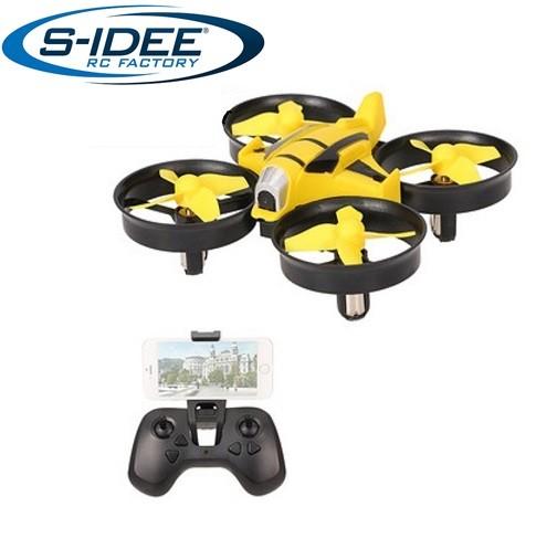 s-idee® 17112 S010 Wifi Drohne HD Kamera FPV Rc Quadrocopter Höhenstabilisierung, One Key Return