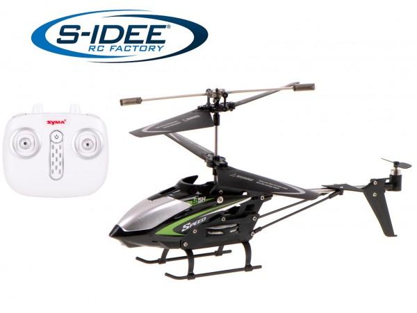 s-idee® Syma S5H schwarz Heli Hubschrauber RC ferngesteuerter Hubschrauber/Helikopter schwarz