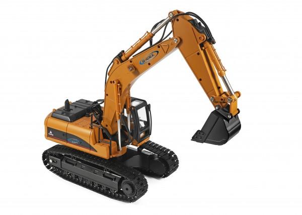 RC Bagger S16800 1:14 23 Kanal mit Rauch und Sound Metallbagger WL16800