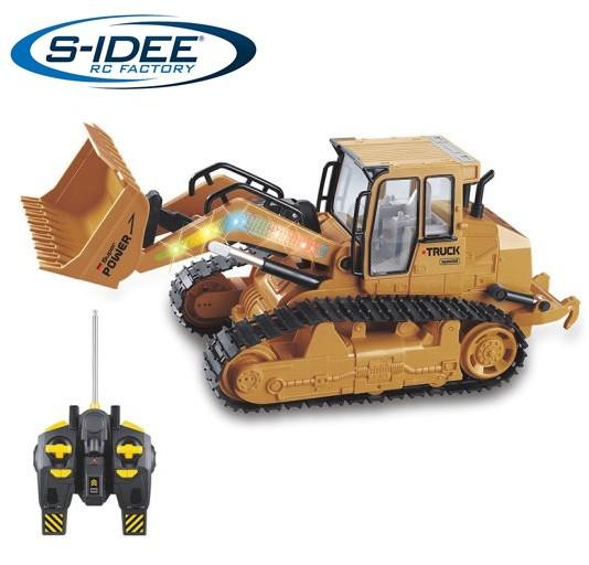 s-idee® S6822L RC Radlader 6 Kanal mit 2,4 GHz schwenkbarer Schaufel
