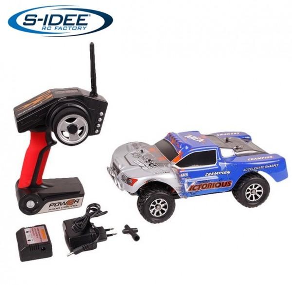 s-idee® WL A969 RC Auto Buggy 1:18 mit 2,4 GHz 50 km/h schnell, wendig, voll digital