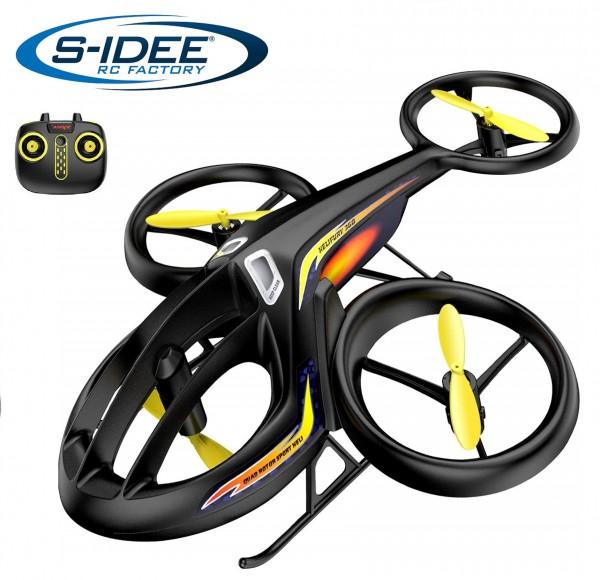s-idee® Syma TF1001 Heli Hubschrauber RC ferngesteuerter Hubschrauber/Helikopter schwarz