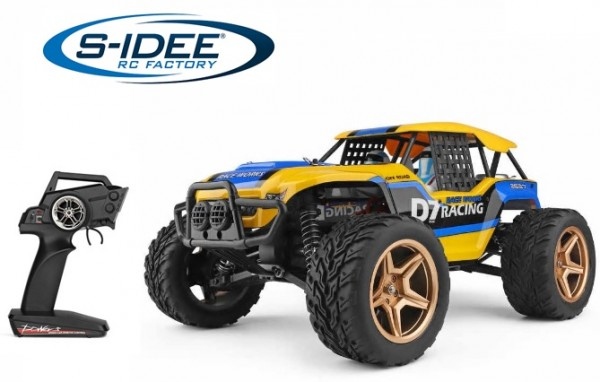 s-idee® WL 12402-A RC Model Crawler 1/12 2.4G 45 km/h 2,4 GHz
