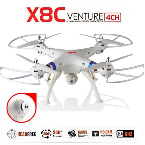 Quadrocopter Syma X8C HD KAMERA 4.5 Kanal 2.4 Ghz Drohne mit Gyroscope Technik