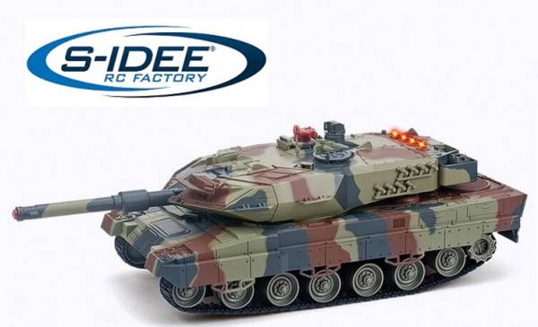 s-idee® Battle Panzer 558 1:24 Kampfpanzer 2.4 Ghz RC