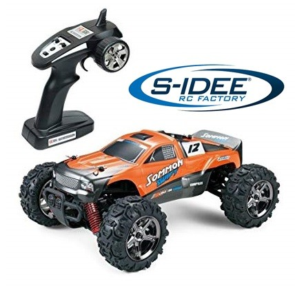 s-idee® 18163 1/24 4WD Brushed High Speed RC Monster Truck RTR 2.4GHz BG1510B