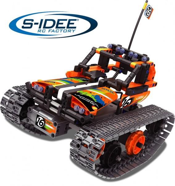 s-idee® 8016 RC Bausteinfahrzeug mit Fernsteuerung