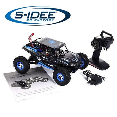 s-idee® 18112 12428-B RC Monstertruck 1:12 mit 2,4 GHz 50 km/h schnell, wendig, voll digital proport