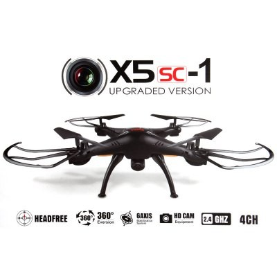 Quadrocopter Syma X5SC HD KAMERA 4.5 Kanal 2.4 Ghz Drohne mit Gyroscope Technik