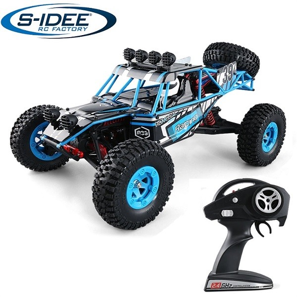 s-idee® 18141 S39 RC Auto Buggy Monstertruck 1:12 mit 2,4 GHz ca. 50 km/h schnell, wendig, voll digi