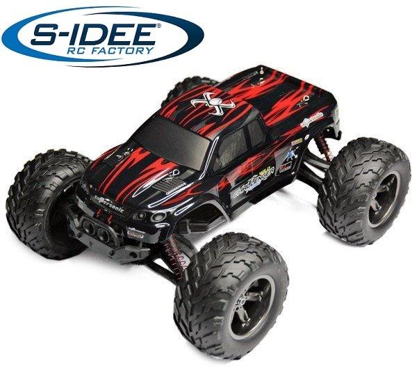 s-idee® 18175 9115 RC Auto Buggy wasserdichter Monstertruck 1:12 mit 2,4 GHz über 40 km/h schnell, w