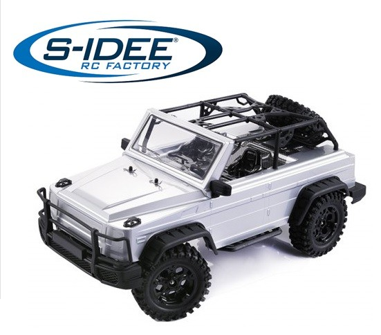 s-idee® HG P402 RC Model Crawler 1/10 2.4G 4WD 3CH 2,4 GHz