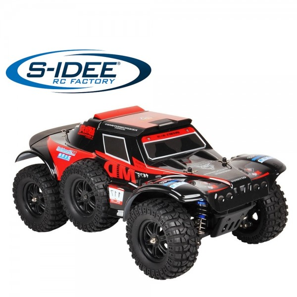 s-idee® 18211 S124012 Crawler mit 2,4 GHz 4WD 1:12 Monstertruck Buggy