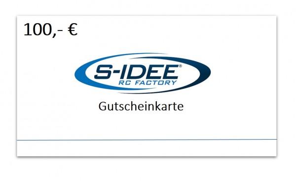 s-idee® Geschenkgutschein 100 €