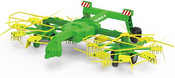 s-idee® S052-003 RC Heuwender mit einklappbaren Armen für RC Traktor S351-003