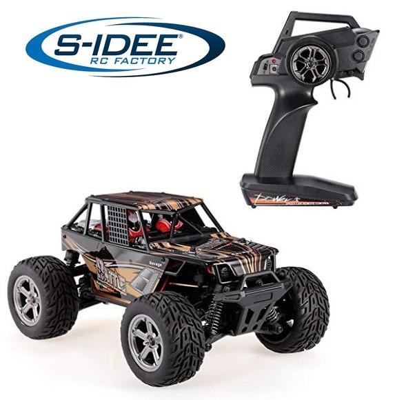 s-idee® 20409 RC Crawler Geländewagen mit 2,4 GHz bis 45 km/h 1:20 Buggy