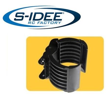 s-idee® Holzgreifer aus Metall für Vollmetall Bagger 1:14 Huina 1580 580 Metallbagger