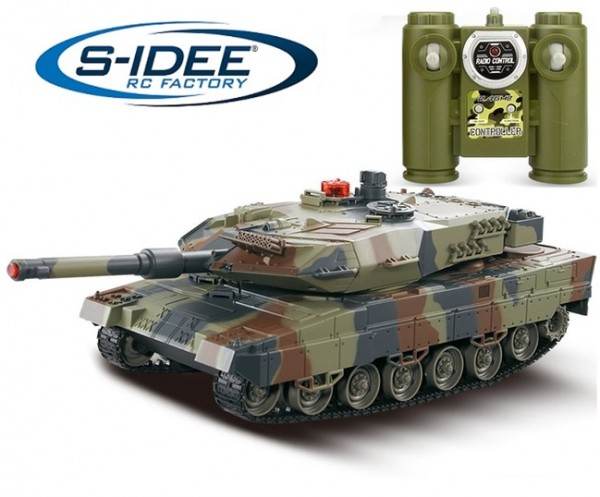 s-idee® Battle Panzer 516-10 1:24 Kampfpanzer 2.4 Ghz RC