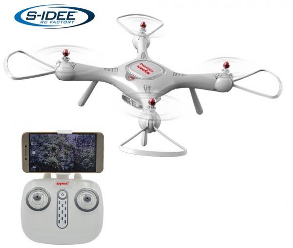 s-idee® Syma X25 Pro Quadrocopter mit GPS, Headlessmode, OKR, u.v.m.