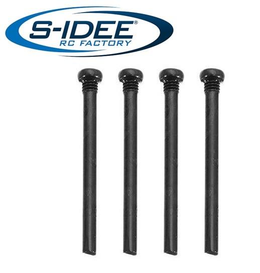 s-idee® 25-LS16 Zubehör Ersatzteil Schrauben Rundkopf 3 x 31 mm für RC-Modell S9125 18173 1:10