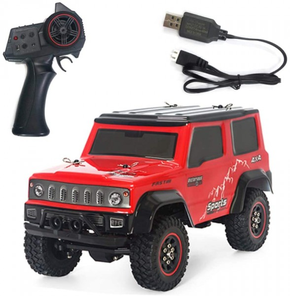 s-idee® SG1801 rot 2.4G 3CH 1/18 Crawler RC Car Fahrzeug Metall Frame Rtr Modelle