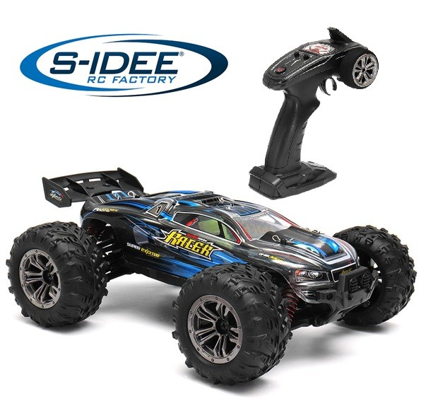 s-idee® 9136 ferngesteuerter RC Monstertruck Rock Crawler 1:16 blau