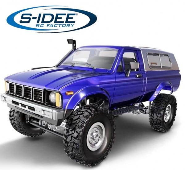 s-idee® WPL C24 1/16 4WD 2.4G Truck mit Beleuchtung ferngesteuert Pickup LKW