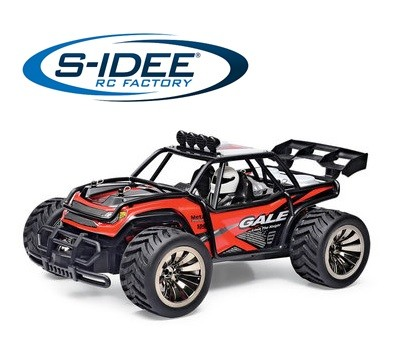s-idee® 18161 1/16 2WD Brushed High Speed RC Monster Truck RTR 2.4GHz BG1512