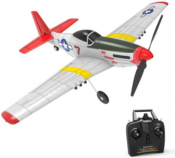 s-idee 761-5 Volantex RC Mustang P51 RTF RC Flugzeug RC Gilder 6 achsen gyro stabilisator system RTF