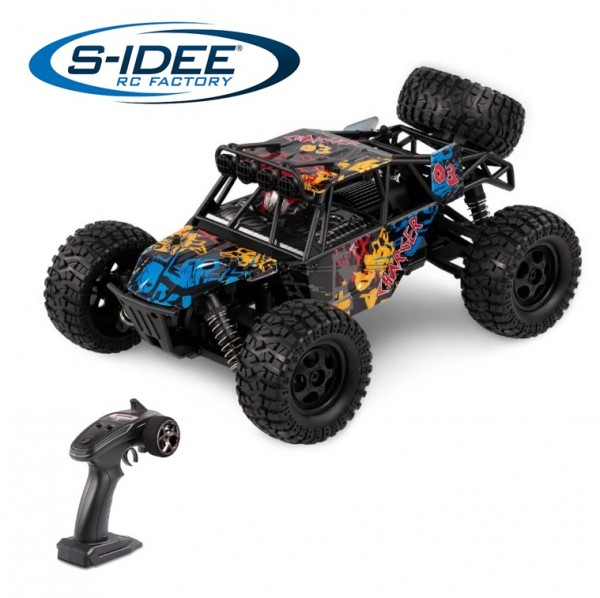 s-idee® G173 RC High Speed Car 1:16 mit 2,4 GHz 4WD 36 km/h