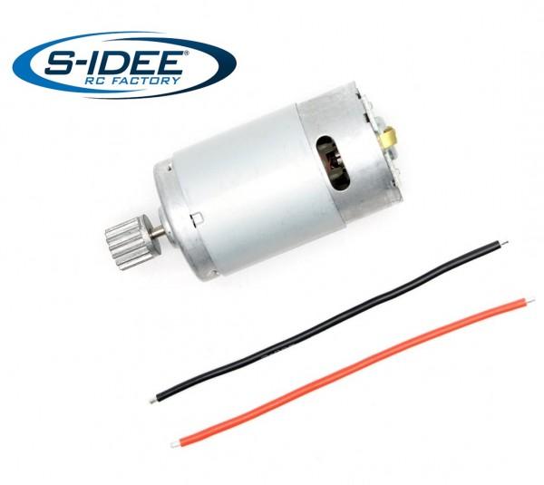 s-idee® 25-DJ01 Zubehör Ersatzteil Motor inklusive Gear für RC-Modell S9125 18173 1:10
