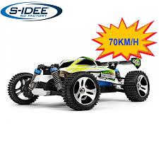 s-idee® 18131 A959-B RC Auto Buggy Monstertruck 1:18 mit 2,4 GHz 70 km/h schnell, wendig, voll digit