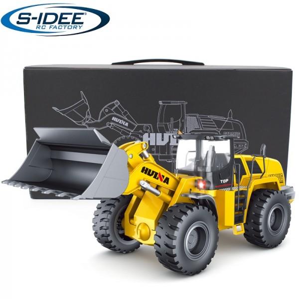 s-idee® Metall Radlader 1:14 Profi RC Modell Huina 583 1583 Version V2