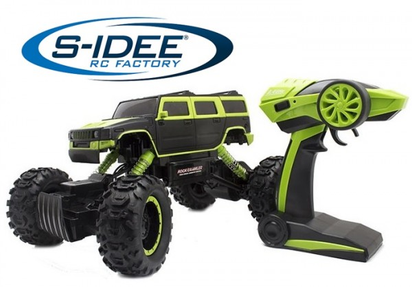 s-idee® 18154 Rock Crawler 1403 mit 2,4 GHz 4WD Buggy Monstertruck