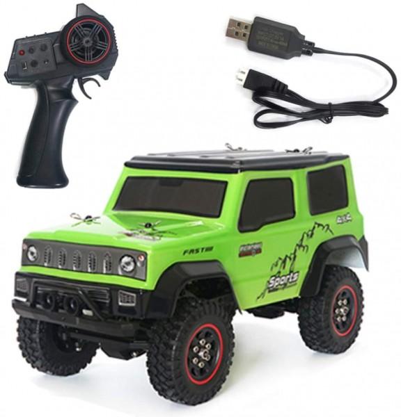 s-idee® SG1801 grün 2.4G 3CH 1/18 Crawler RC Car Fahrzeug Metall Frame Rtr Modelle