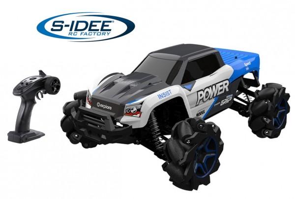s-idee® H1277A RC Monstertruck Drifter 1:12 mit 2,4 GHz bis 35 kmh schnell
