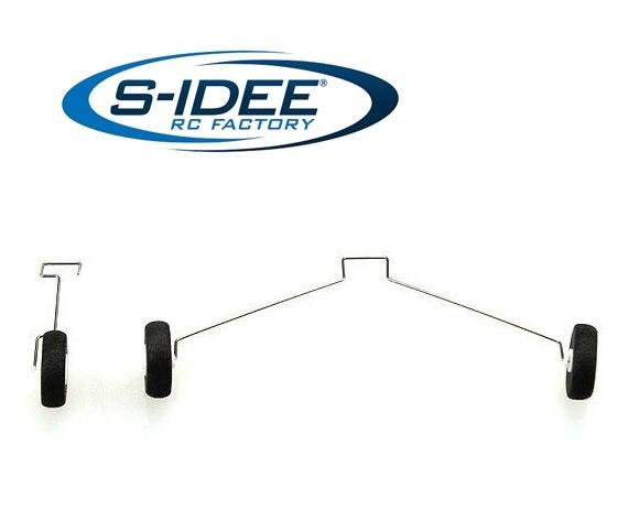 s-idee® 21008 Landegestell Zubehör Ersatzteil für RC-Modell F949