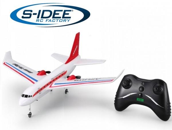 s-idee® FX819 RC ferngesteuertes Flugzeug mit 2,4 GHz