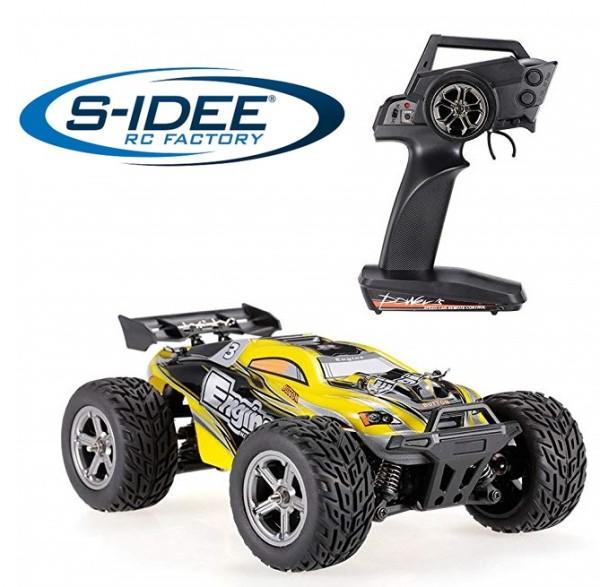 s-idee® 20404 RC Crawler Geländewagen mit 2,4 GHz bis 45 km/h 1:20 Buggy