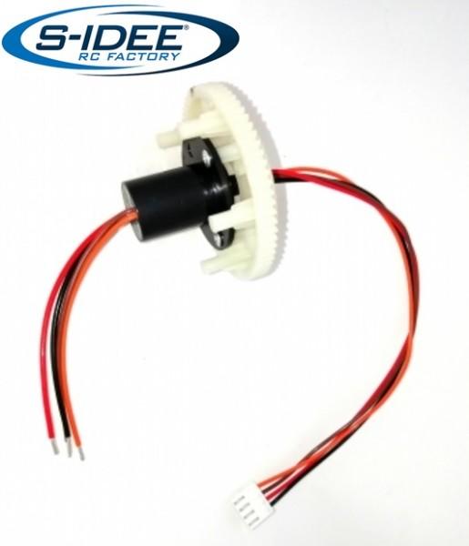 s-idee® Drehkranz Vollmetall Bagger 1:14 Huina 1580 580 Metallbagger
