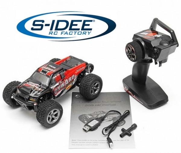 s-idee® 20402 RC Crawler Geländewagen mit 2,4 GHz bis 45 km/h 1:20 Buggy