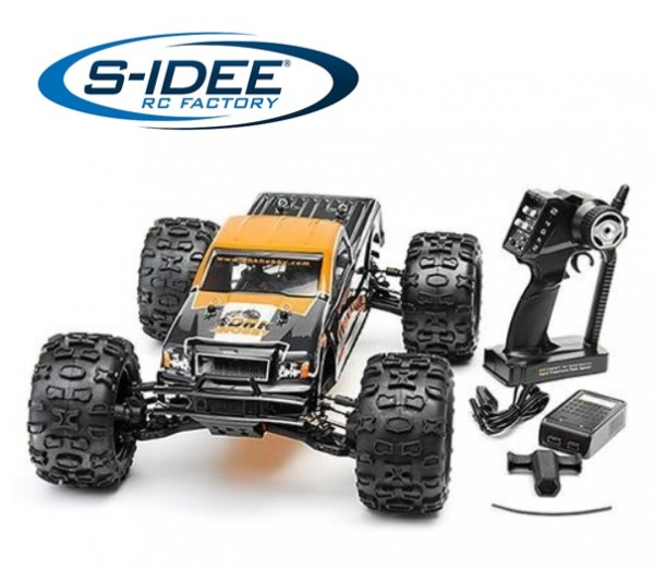 s-idee® 8382 Maximus RC Brushless Truck mit 2,4 GHz 2CH