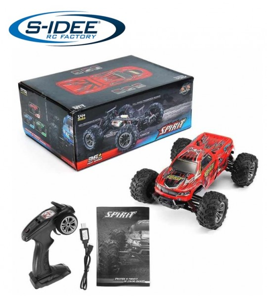 s-idee® 18241 High Speed RC Monstertruck 9135 1:16 mit 2,4 GHz 36 km/h schnell Auto